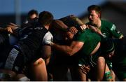 2 March 2019; Denis Buckley, left, and Eoin McKeon of Connacht in the scrum during the Guinness PRO14 Round 17 match between Connacht and Ospreys at The Sportsground in Galway. Photo by Ramsey Cardy/Sportsfile