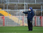 2 March 2019; Cavan manager Mickey Graham prior to the Allianz Football League Division 1 Round 5 match between Tyrone and Cavan at Healy Park in Omagh, Tyrone. Photo by Seb Daly/Sportsfile