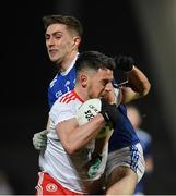2 March 2019; Matthew Donnelly of Tyrone in action against Killian Clarke of Cavan during the Allianz Football League Division 1 Round 5 match between Tyrone and Cavan at Healy Park in Omagh, Tyrone. Photo by Seb Daly/Sportsfile