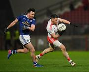 2 March 2019; Matthew Donnelly of Tyrone in action against Conor Moynagh of Cavan during the Allianz Football League Division 1 Round 5 match between Tyrone and Cavan at Healy Park in Omagh, Tyrone. Photo by Seb Daly/Sportsfile