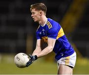 2 March 2019; John Meagher of Tipperary during the Allianz Football League Division 2 Round 5 match between Tipperary and Cork at Semple Stadium in Thurles, Tipperary. Photo by Matt Browne/Sportsfile