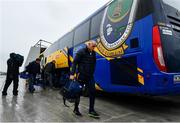 3 March 2019; Roscommon manager Anthony Cunningham arrives ahead of the Allianz Football League Division 1 Round 5 match between Roscommon and Dublin at Dr Hyde Park in Roscommon. Photo by Ramsey Cardy/Sportsfile