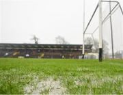 3 March 2019; A detailed view of the pitch prior to postponement the Allianz Hurling League Division 1B Round 5 match between Waterford and Galway at Walsh Park in Waterford. Photo by Seb Daly/Sportsfile