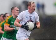 3 March 2019; Keith Cribbin of Kildare gets past Ronan Ryan of Meath during the Allianz Football League Division 2 Round 5 match between Meath and Kildare at Páirc Táilteann, in Navan, Meath. Photo by Piaras Ó Mídheach/Sportsfile