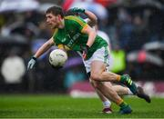 3 March 2019; Shane Gallagher of Meath in action against Jimmy Hyland of Kildare during the Allianz Football League Division 2 Round 5 match between Meath and Kildare at Páirc Táilteann, in Navan, Meath. Photo by Piaras Ó Mídheach/Sportsfile