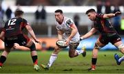 3 March 2019; John Cooney of Ulster during the Guinness PRO14 Round 17 match between Dragons and Ulster at Rodney Parade in Newport, Wales. Photo by Ben Evans/Sportsfile