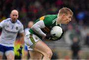 3 March 2019; Tommy Walsh of Kerry catches a mark during the Allianz Football League Division 1 Round 5 match between Kerry and Monaghan at Fitzgerald Stadium in Killarney, Kerry. Photo by Brendan Moran/Sportsfile