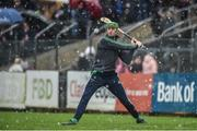 3 March 2019; Limerick goalkeeper Nickie Quaid during the Allianz Hurling League Division 1A Round 5 match between Clare and Limerick at Cusack Park in Ennis, Co. Clare. Photo by Diarmuid Greene/Sportsfile