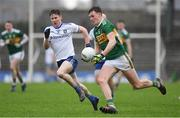 3 March 2019; Gavin O'Brien of Kerry in action against Karl O'Connell of Monaghan during the Allianz Football League Division 1 Round 5 match between Kerry and Monaghan at Fitzgerald Stadium in Killarney, Kerry. Photo by Brendan Moran/Sportsfile