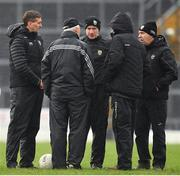 3 March 2019; Kerry manager Peter Keane, right with selectors, from left, Maurice Fitzgerald, James Foley, Tommy Griffin and Donie Buckley after the Allianz Football League Division 1 Round 5 match between Kerry and Monaghan at Fitzgerald Stadium in Killarney, Kerry. Photo by Brendan Moran/Sportsfile