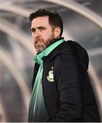 4 March 2019; Shamrock Rovers manager Stephen Bradley ahead of the SSE Airtricity League Premier Division match between Shamrock Rovers and Finn Harps at Tallaght Stadium in Dublin. Photo by Eóin Noonan/Sportsfile