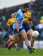 3 March 2019; Niall Scully of Dublin during the Allianz Football League Division 1 Round 5 match between Roscommon and Dublin at Dr Hyde Park in Roscommon. Photo by Ramsey Cardy/Sportsfile