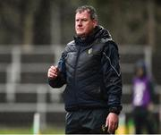 3 March 2019; Leitrim manager Terry Hyland during the Allianz Football League Division 4 Round 5 match between Leitrim and London at Avantcard Páirc Seán Mac Diarmada in Carrick-on-Shannon, Co. Leitrim. Photo by Oliver McVeigh/Sportsfile