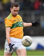 3 March 2019; Evan Sweeney of Leitrim during the Allianz Football League Division 4 Round 5 match between Leitrim and London at Avantcard Páirc Seán Mac Diarmada in Carrick-on-Shannon, Co. Leitrim. Photo by Oliver McVeigh/Sportsfile
