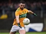 3 March 2019; Gary Plunkett of Leitrim during the Allianz Football League Division 4 Round 5 match between Leitrim and London at Avantcard Páirc Seán Mac Diarmada in Carrick-on-Shannon, Co. Leitrim. Photo by Oliver McVeigh/Sportsfile