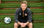6 March 2019; Conor Clifford poses for a portrait after a St Patrick's Athletic Press Conference at Ballyoulster United AFC in Celbridge, Co. Kildare. Photo by Sam Barnes/Sportsfile