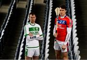 6 March 2019; Ballyhale Shamrock's Joey Holden, left, and St Thomas' Conor Cooney ahead of the AIB GAA All-Ireland Senior Hurling Club Championship Final taking place at Croke Park on Sunday, March 17th. Having extended their sponsorship of both Club and County for another five years in 2018, AIB is pleased to continue its sponsorship of the GAA Club Championships for a 29th consecutive year. For exclusive content and behind the scenes action throughout the AIB GAA & Camogie Club Championships follow AIB GAA on Facebook, Twitter, Instagram and Snapchat. Photo by Stephen McCarthy/Sportsfile