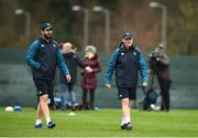 6 March 2019; Head coach Joe Schmidt, right, and defence coach Andy Farrell during Ireland Rugby Squad Training at Carton House in Maynooth, Kildare. Photo by David Fitzgerald/Sportsfile