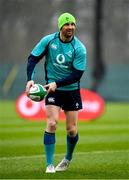 8 March 2019; Rob Kearney during Ireland Rugby squad training at Carton House in Maynooth, Kildare. Photo by Ramsey Cardy/Sportsfile