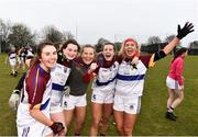 9 March 2019; UL celebrate after the Gourmet Food Parlour O'Connor Cup Final between University of Limerick and University College Dublin at DIT Grangegorman, in Grangegorman, Dublin. Photo by Eóin Noonan/Sportsfile