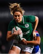 9 March 2019; Eimear Considine of Ireland is tackled by Ian Jason of France during the Women's Six Nations Rugby Championship match between Ireland and France at Energia Park in Donnybrook, Dublin. Photo by Ramsey Cardy/Sportsfile