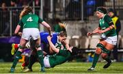 9 March 2019; Romane Menager of France is tackled by Ciara Griffin of Ireland, Romane Menager was subsequently shown a red card, during the Women's Six Nations Rugby Championship match between Ireland and France at Energia Park in Donnybrook, Dublin. Photo by Ramsey Cardy/Sportsfile