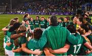 9 March 2019; Ireland captain Ciara Griffin speaks to her team following their defeat in the Women's Six Nations Rugby Championship match between Ireland and France at Energia Park in Donnybrook, Dublin. Photo by Ramsey Cardy/Sportsfile