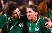 9 March 2019; Anna Caplice, left, and Ellen Murphy of Ireland following their defeat in the Women's Six Nations Rugby Championship match between Ireland and France at Energia Park in Donnybrook, Dublin. Photo by Ramsey Cardy/Sportsfile