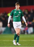 8 March 2019; Jake Flannery of Ireland during the U20 Six Nations Rugby Championship match between Ireland and France at Irish Independent Park in Cork. Photo by Matt Browne/Sportsfile