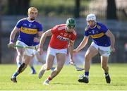 10 March 2019; Alan Cadogan of Cork in action against Ronan Maher, left, and Niall O'Meara of Tipperary during the Allianz Hurling League Division 1A Round 5 match between Cork and Tipperary at Páirc Uí Rinn in Cork. Photo by Stephen McCarthy/Sportsfile