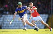 10 March 2019; John O'Dwyer of Tipperary in action against Stephen McDonnell of Cork during the Allianz Hurling League Division 1A Round 5 match between Cork and Tipperary at Páirc Uí Rinn in Cork. Photo by Stephen McCarthy/Sportsfile