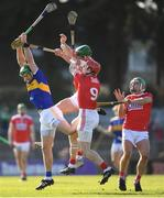 10 March 2019; Noel McGrath of Tipperary in action against Cork players, from left, Aidan Walsh, Bill Cooper, 9, and Dan Dooley during the Allianz Hurling League Division 1A Round 5 match between Cork and Tipperary at Páirc Uí Rinn in Cork. Photo by Stephen McCarthy/Sportsfile
