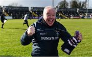 10 March 2019; Westmeath manager Joe Quaid celebrates at the final whistle following the Allianz Hurling League Division 2A Final match between Westmeath and Kerry at Cusack Park in Ennis, Clare. Photo by Sam Barnes/Sportsfile