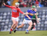 10 March 2019; Noel McGrath of Tipperary in action against Shane Kingston of Cork during the Allianz Hurling League Division 1A Round 5 match between Cork and Tipperary at Páirc Uí Rinn in Cork. Photo by Stephen McCarthy/Sportsfile