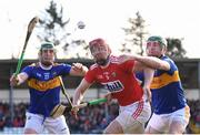 10 March 2019; Bill Cooper of Cork in action against John O'Dwyer, left, and Noel McGrath of Tipperary during the Allianz Hurling League Division 1A Round 5 match between Cork and Tipperary at Páirc Uí Rinn in Cork. Photo by Stephen McCarthy/Sportsfile