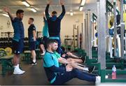 12 March 2019; Rob Kearney during an Ireland Rugby gym session at Carton House in Maynooth, Kildare. Photo by Ramsey Cardy/Sportsfile