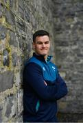 12 March 2019; Jonathan Sexton poses for a portrait following an Ireland Rugby press conference at Carton House in Maynooth, Kildare. Photo by Ramsey Cardy/Sportsfile