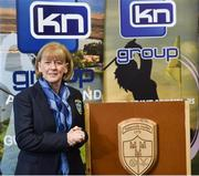 13 March 2019; Geraldine Mangan, Chairperson of St Judes GAA Club, at today's launch of the 20th annual KN Group All-Ireland GAA Golf Challenge in St. Jude's GAA club. On August 9 and 10, the two-day event takes place in Concra Wood and Nuremore Golf Clubs in County Monaghan. Golfers will congregate to represent their GAA clubs in their hope of claiming All-Ireland glory while raising funds for much-needed GAA-associated charities such as Raharney youngster Fionn McAnaney. For more information follow @GolfGAA on Twitter or All-Ireland GAA Golf Challenge on Facebook. Photo by Matt Browne/Sportsfile