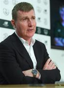 13 March 2019; Manager Stephen Kenny during a Republic of Ireland U21 Squad Announcement at FAI HQ in Abbotstown, Dublin. Photo by Piaras Ó Mídheach/Sportsfile