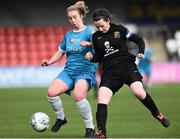 13 March 2019; Brooke Dunne of Maynooth University in action against Ciara McNamara of University College Cork in the WSCAI Kelly Cup Final match between University College Cork and Maynooth University at Seaview in Belfast. Photo by Oliver McVeigh/Sportsfile