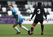 13 March 2019; Sarah McKevitt of Maynooth University in action against Kate Connors of University College Cork in the WSCAI Kelly Cup Final match between University College Cork and Maynooth University at Seaview in Belfast. Photo by Oliver McVeigh/Sportsfile