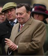 13 March 2019; Trainer Nicky Henderson after sending out Altior to win the Betway Queen Mother Champion Chase on Day Two of the Cheltenham Racing Festival at Prestbury Park in Cheltenham, England. Photo by David Fitzgerald/Sportsfile