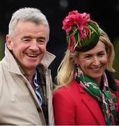 13 March 2019; Michael and Anity O'Leary on Day Two of the Cheltenham Racing Festival at Prestbury Park in Cheltenham, England. Photo by David Fitzgerald/Sportsfile