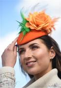 14 March 2019; Racegoer Kate Treacy, from Co Wicklow, prior to racing on Day Three of the Cheltenham Racing Festival at Prestbury Park in Cheltenham, England. Photo by David Fitzgerald/Sportsfile