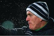9 March 2019; Limerick manager John Kiely during the Allianz Hurling League Division 1 Quarter-Final match between Laois and Limerick at O'Moore Park in Portlaoise, Laois. Photo by Stephen McCarthy/Sportsfile