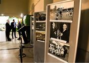 14 March 2019; A general view of the exhibition during the National Football Exhibition Launch at St. Peter's in Cork. Photo by Eóin Noonan/Sportsfile