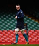 15 March 2019; Peter O'Mahony during the Ireland rugby captain's run at the Principality Stadium in Cardiff, Wales. Photo by Ramsey Cardy/Sportsfile