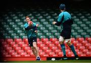 15 March 2019; Kieran Marmion during the Ireland rugby captain's run at the Principality Stadium in Cardiff, Wales. Photo by Ramsey Cardy/Sportsfile