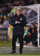 15 March 2019; Sligo Rovers manager Liam Buckley during the SSE Airtricity League Premier Division match between Shamrock Rovers and Sligo Rovers at Tallaght Stadium in Dublin. Photo by Harry Murphy/Sportsfile