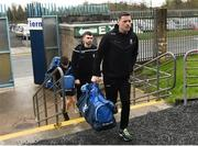 16 March 2019; Conor McManus of Monaghan arriving for the Allianz Football League Division 1 Round 6 match between Monaghan and Cavan at St Tiernach's Park in Clones, Monaghan. Photo by Oliver McVeigh/Sportsfile